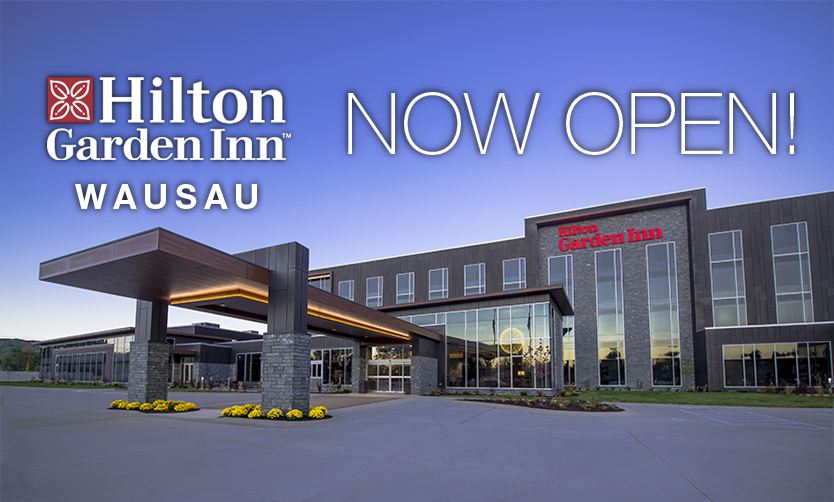 Hilton Garden Inn Debuts in Wausau, Wisconsin with New 108-Room Hotel and Premier Conference Center