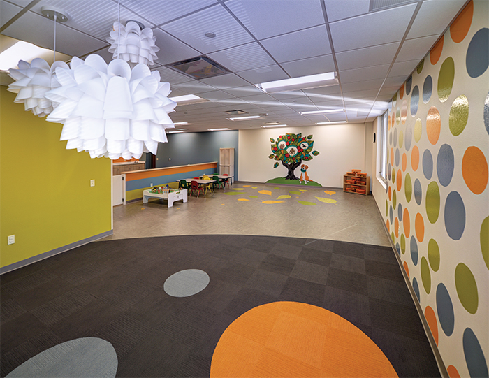 Ghidorzi ymca wisconsin corporate remodeling project for Daycare kitchen ideas
