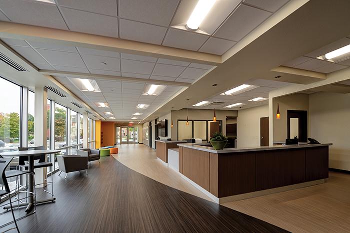 Ghidorzi Ymca Wisconsin Corporate Remodeling Project