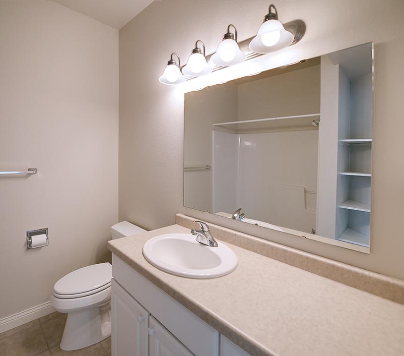 unfurnished bathroom ghidorzi construction
