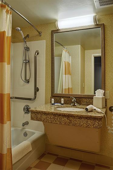 Guest Bathroom Vanity Ghidorzi Construction