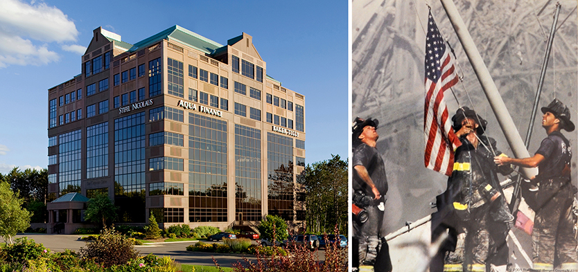 Wausau Joins National Movement of 9-11 Memorial Stair Climb at the Ghidorzi Companies Corporate Cove Tower