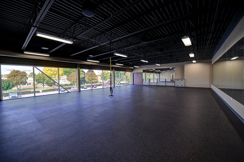 Ymca wausau fitness room ghidorzi construction