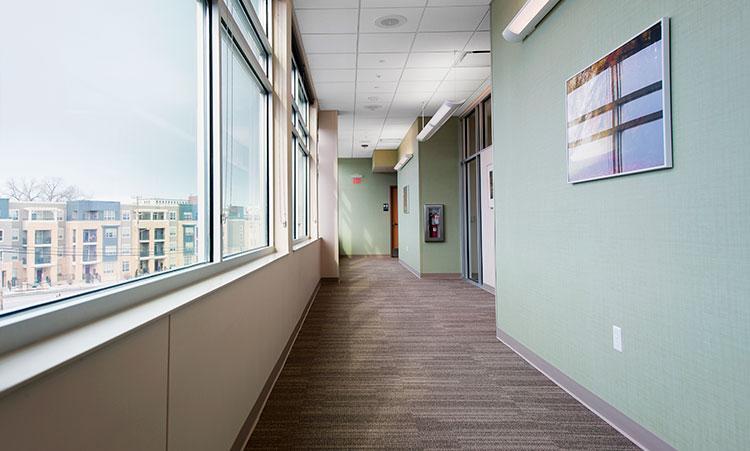Pain Clinic Corridor