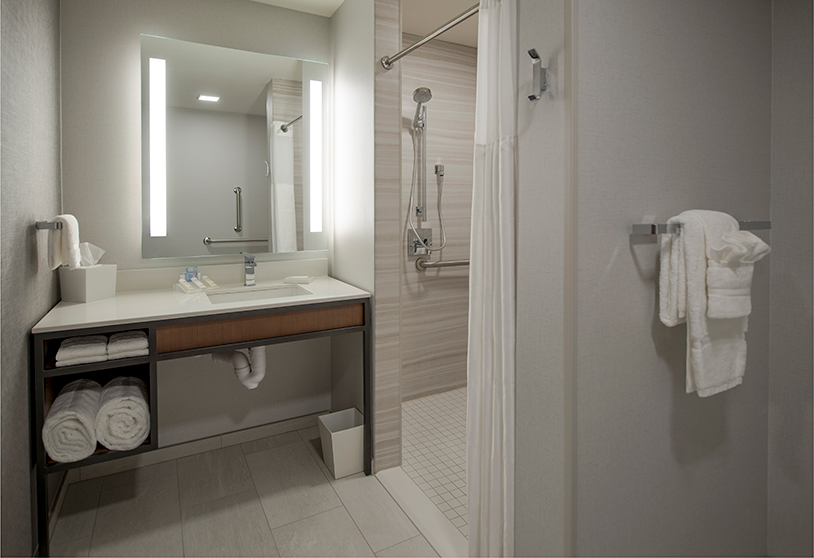 Guest Room Accessible Bathroom Ghidorzi Construction
