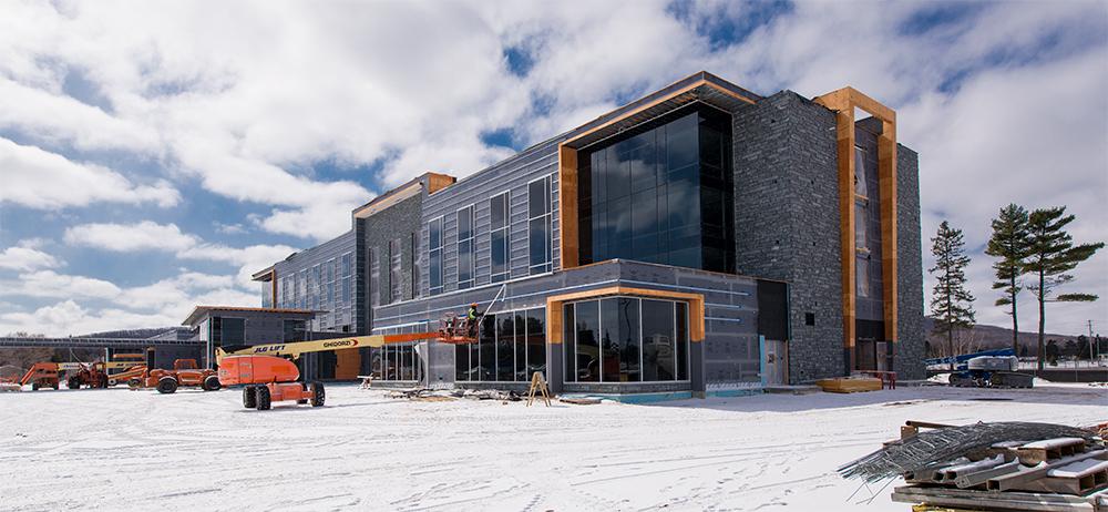 Hilton Wausau Construction