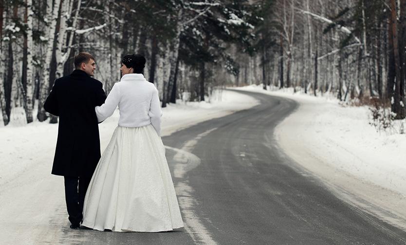 "Couples Say ""I Do"" to Winter Weddings"