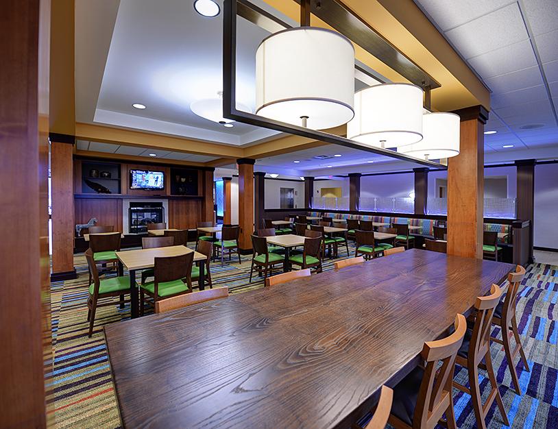 Ghidorzi Wisconsin Hotel Construction Fairfield Inn Suites