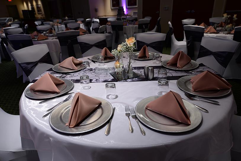 Wedding Reception Table Ghidorzi Construction