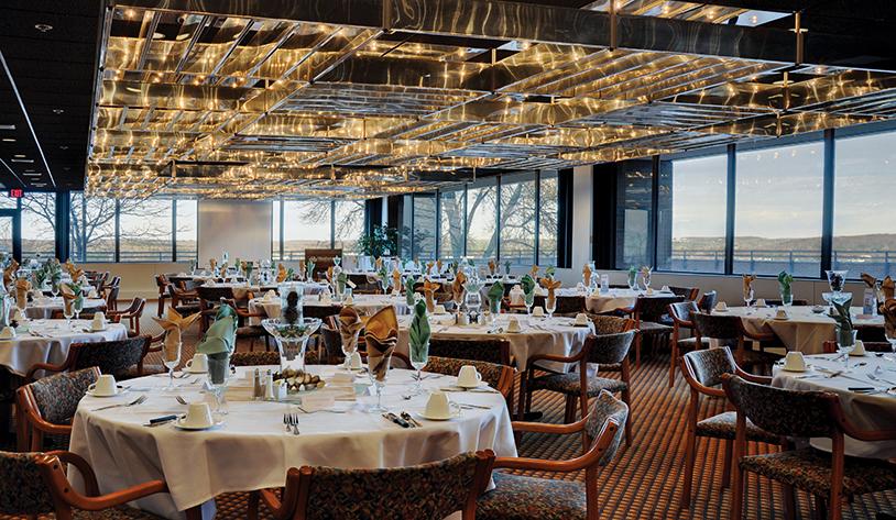 Main Dining Room With Stunning Views Of Wausau Ghidorzi