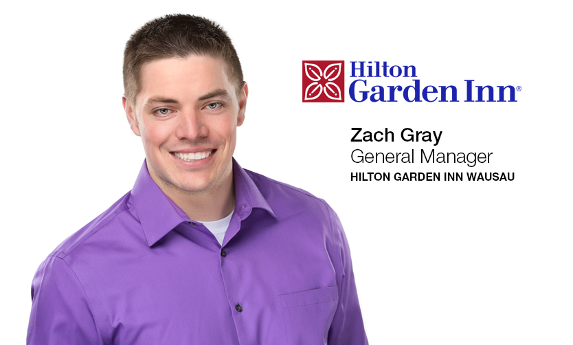 Ghidorzi Hotel Group Welcomes Zach Gray as General Manager of New Hilton Garden Inn Wausau, Opening in Late Summer