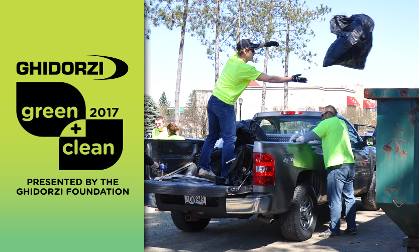 Ghidorzi Green & Clean Volunteers Remove a Record 4.36 Tons of Trash