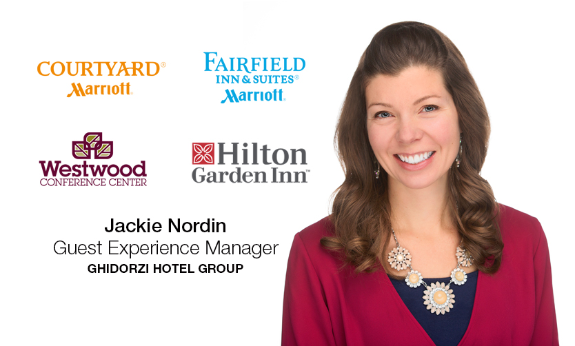 Ghidorzi Hotel Group Promotes Jackie Nordin to Guest Experience Manager