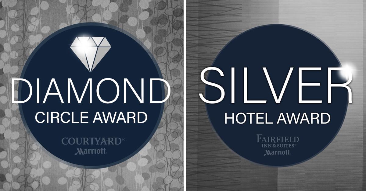 Ghidorzi Hotel Group's Marriott Properties Rank at the Top of Their Brands Worldwide