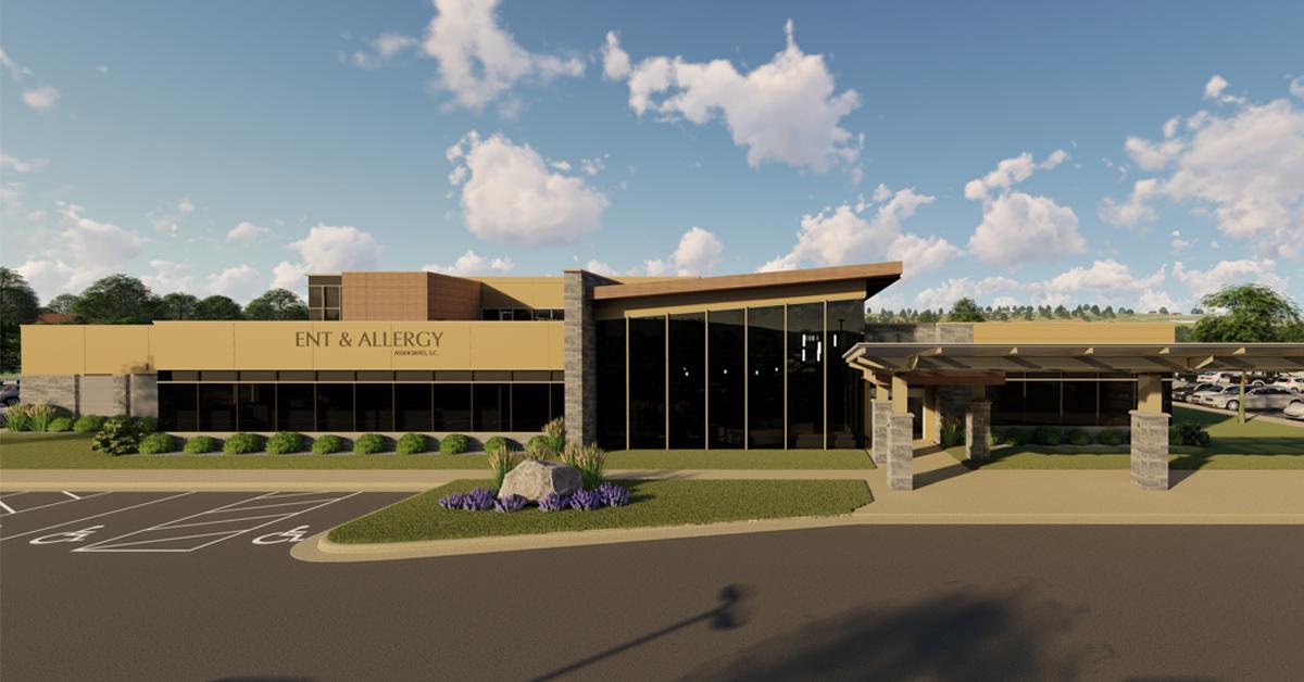 Ghidorzi Breaks Ground on ENT & Allergy Associates Clinic