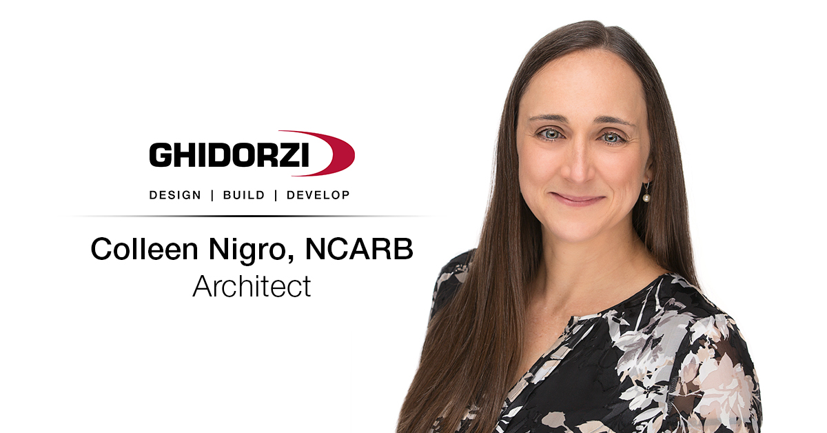 Colleen Nigro Joins the Ghidorzi Team as Architect