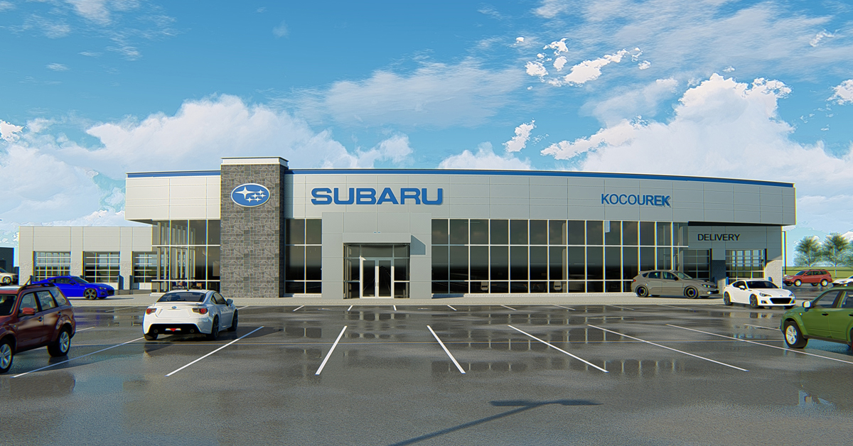 Ghidorzi Breaks Ground on New Subaru Dealership for Kocourek Automotive