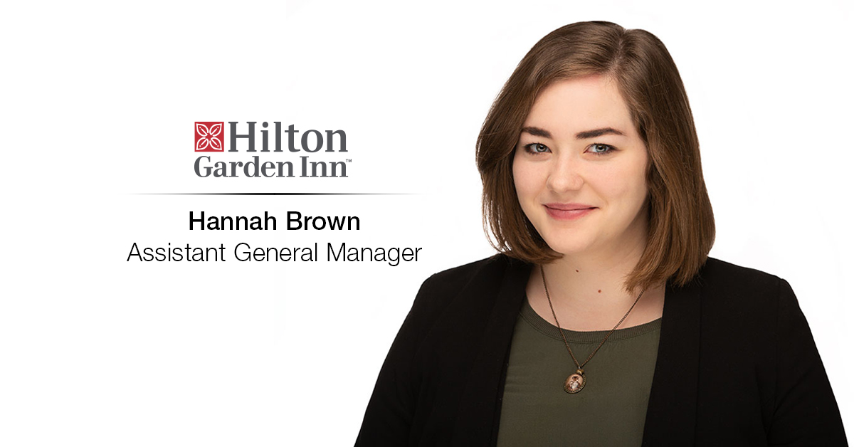 Hannah Brown Joins Hilton Garden Inn Wausau as Assistant General Manager