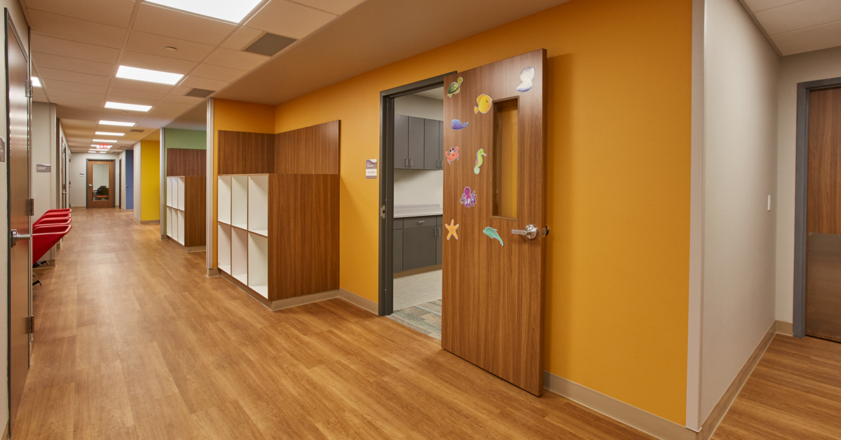 The Woodson YMCA B.A. & Esther Greenheck Foundation Child Care Center Renovation is Now Complete