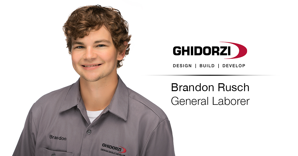 Brandon Rusch Joins the Ghidorzi Property Management Team as General Laborer