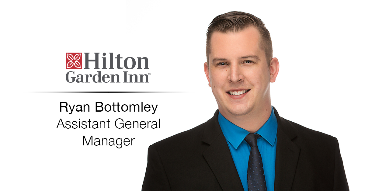 Ghidorzi Hotel Group Promotes Ryan Bottomley to Assistant General Manager of Hilton Garden Inn Wausau