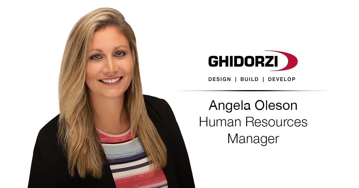 Ghidorzi Welcomes Angela Oleson as Human Resources Manager